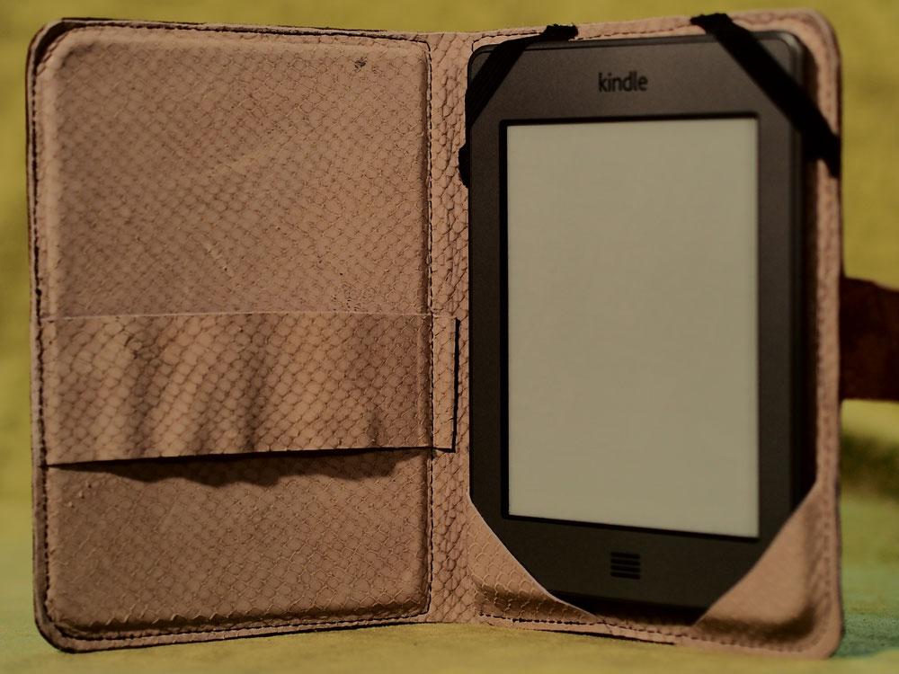 Interior con Kindle Touch